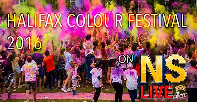 Halifax Colour Fest 2016 NSLive